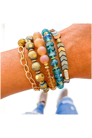 Moroccan Sunset Bracelet Stack