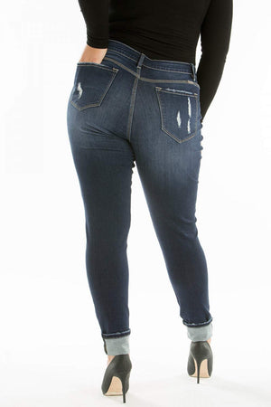 Gemma Dark Wash KanCans - PLUS