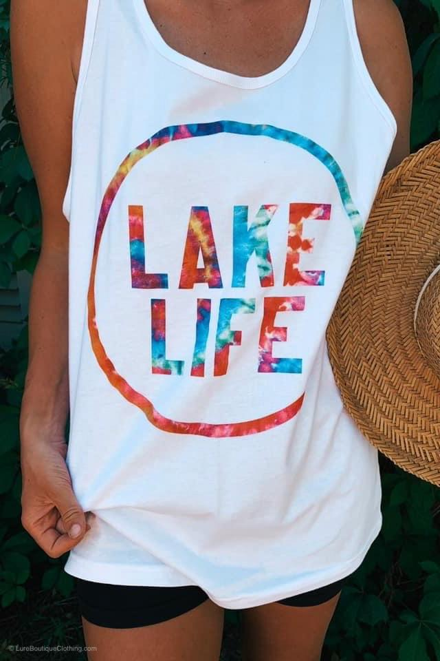 Lake Life Tank - LURE Boutique