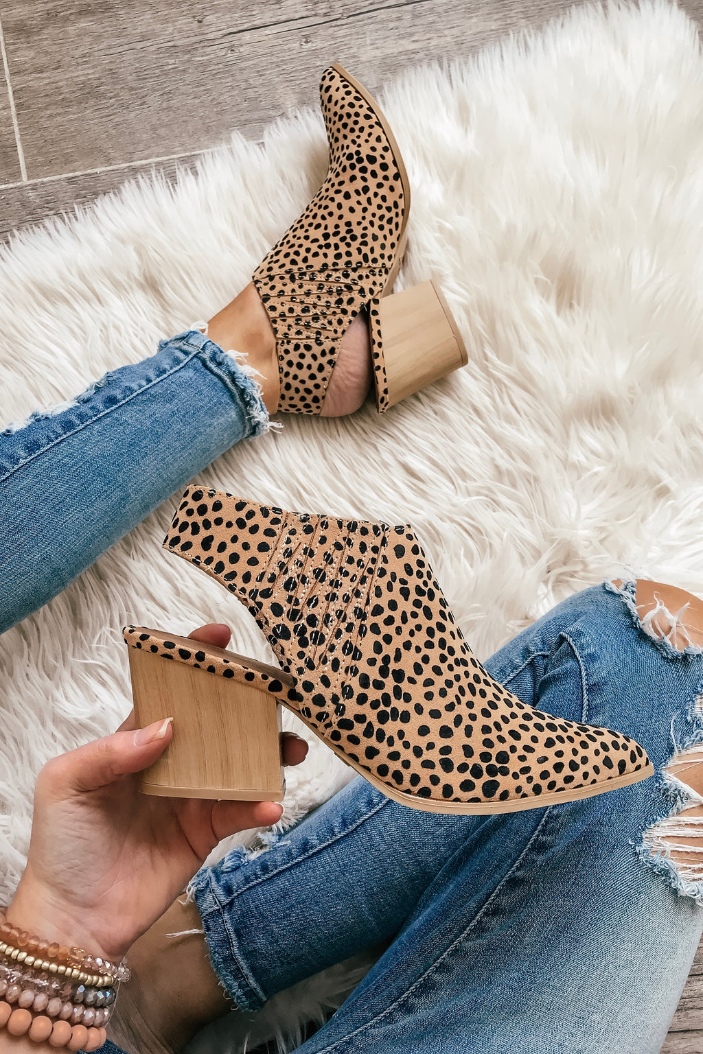 Wild Cheetah Print Booties