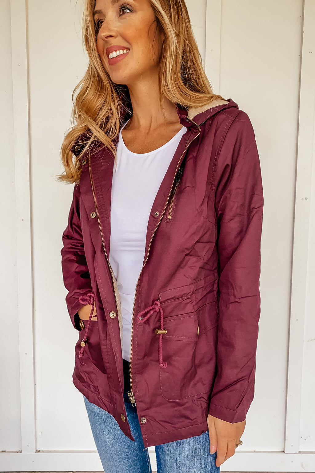 Utility Parka Jacket (Several Colors. Comes in PLUS)