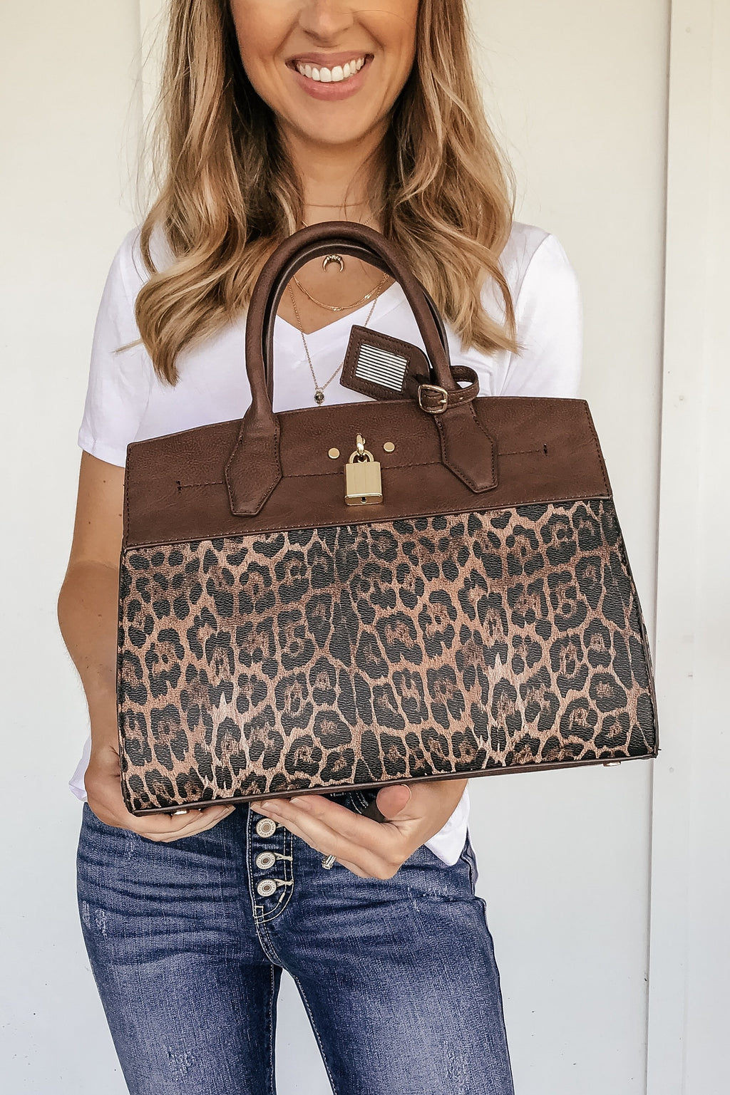 The Luxe Leopard Bag