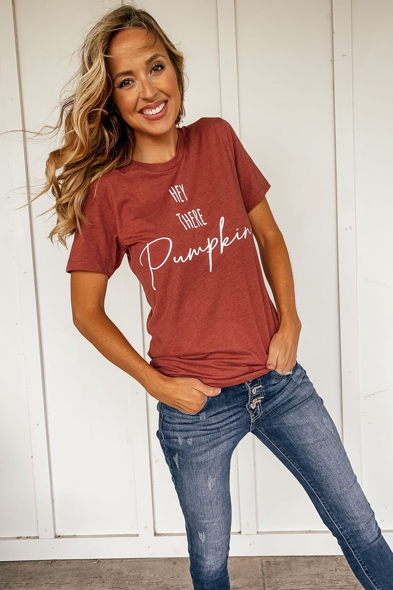 Hey There Pumpkin Tee - LURE Boutique