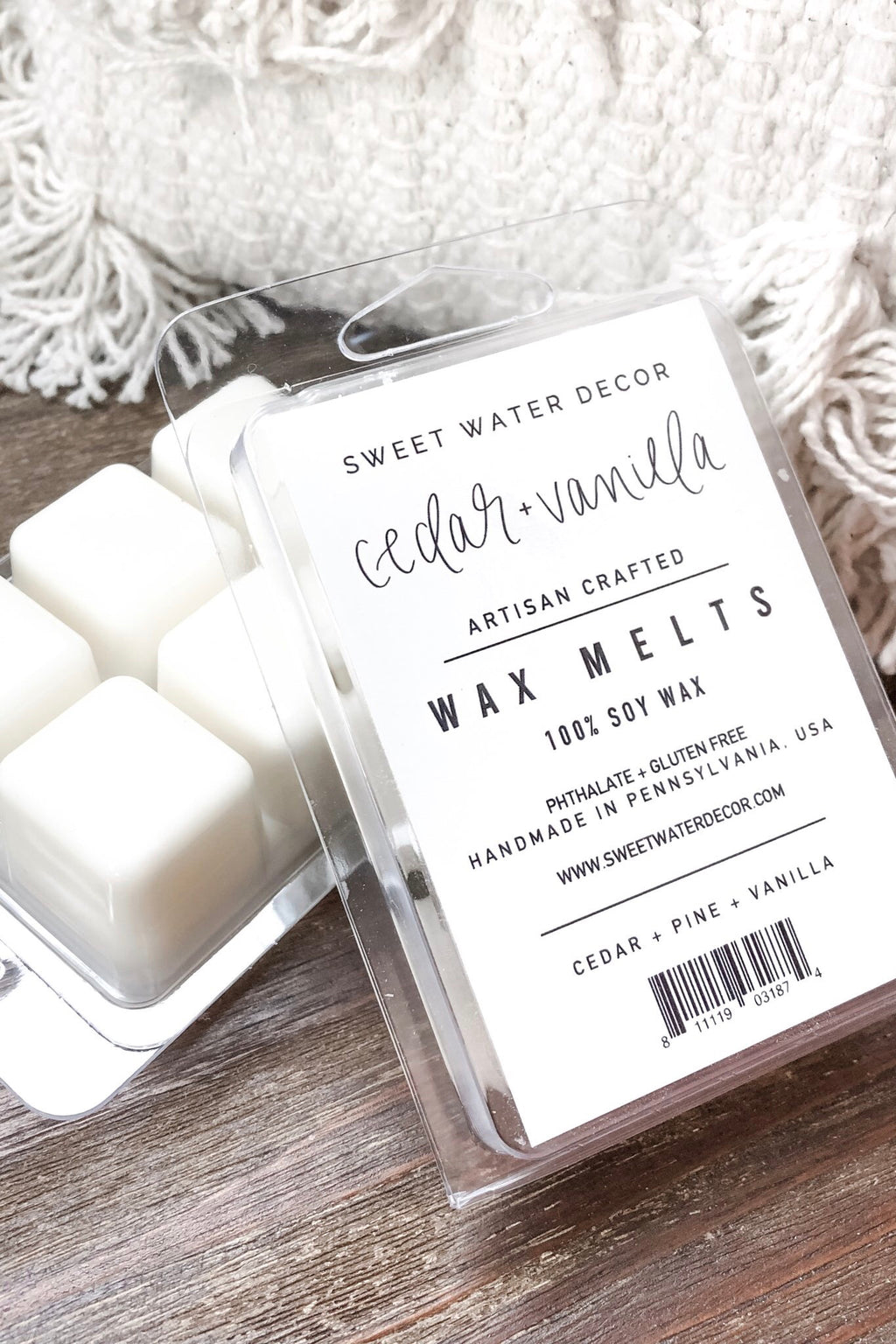 Cedar & Vanilla Wax Melts