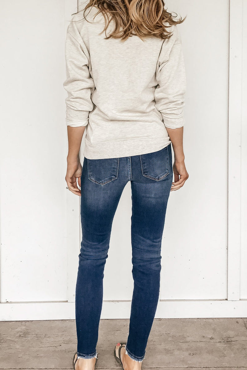 Megan Distressed Skinny Jeans