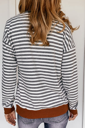 Harlin Striped Sweatshirt
