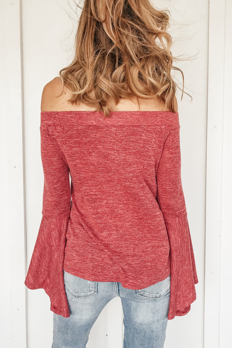 Ruby Southern Bell Top