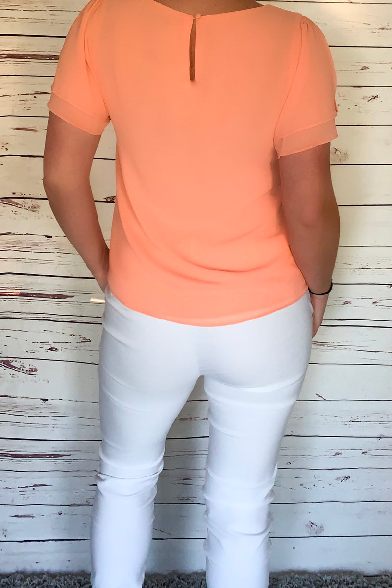 Katrina White Millennium Pants - LURE Boutique