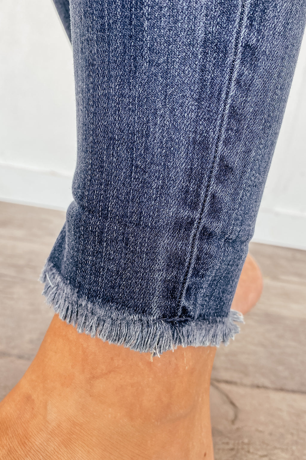The Button Up Ankle KanCan Skinny Jeans