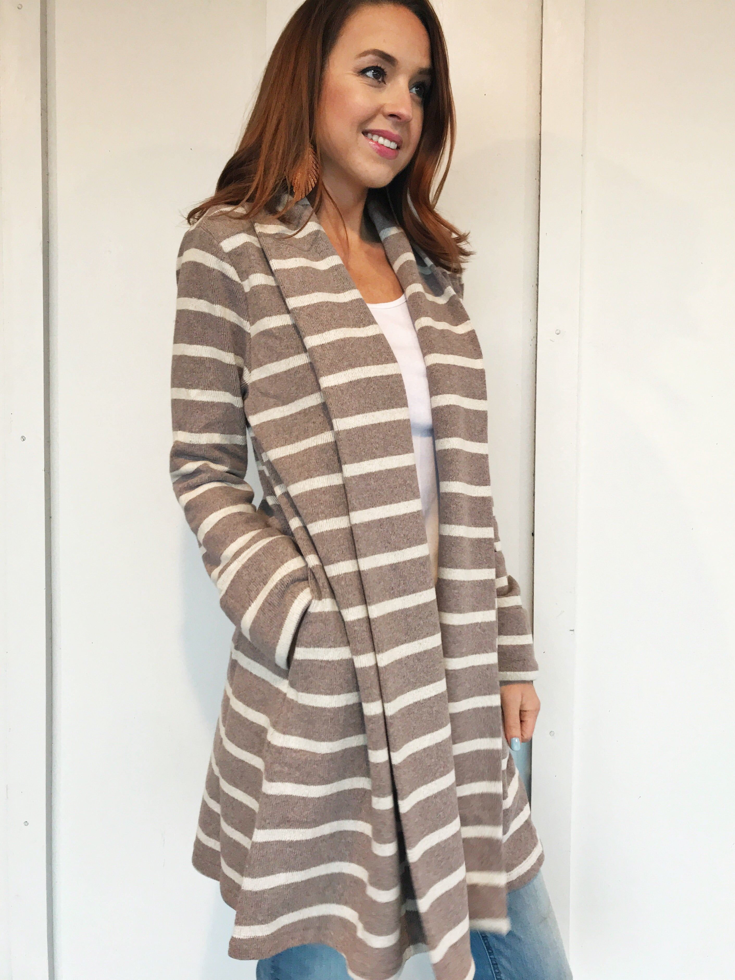 Like a Dream Striped Cardigan