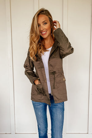 Utility Parka Coat (Several Colors. Comes in PLUS) - LURE Boutique
