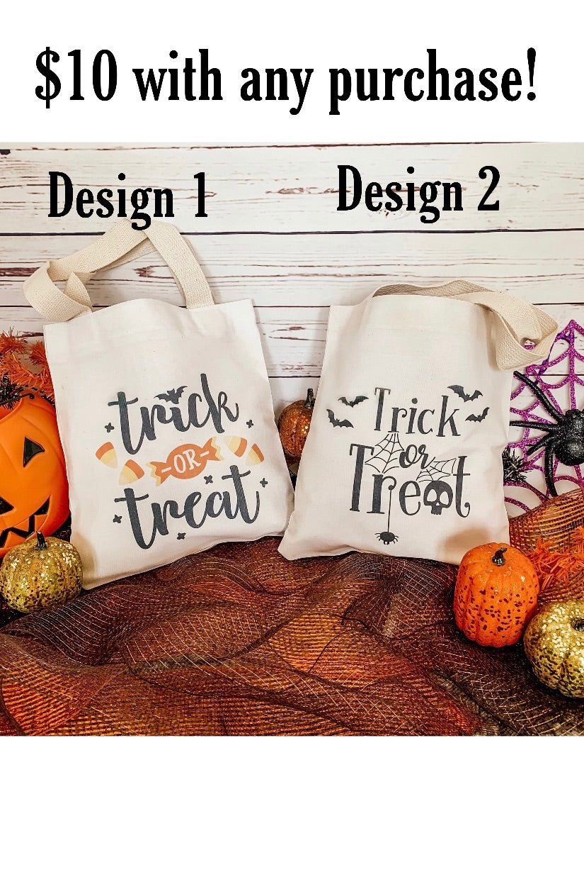 Trick or Treat Bags - Preorder
