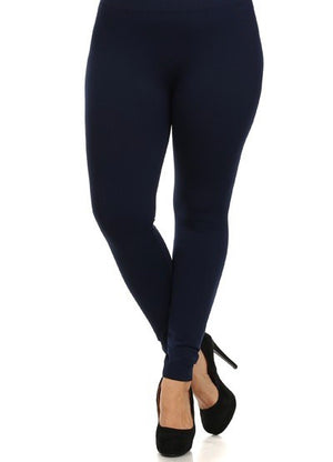 PLUS - Buttery-Soft Leggings (4 Colors)