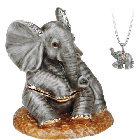 Secrets Baby Elephant Trinket Box