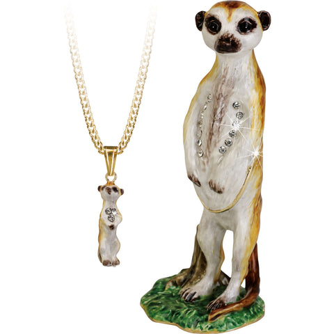 Secrets Meerkat Trinket Box