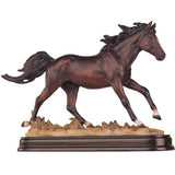 bay brown horse figurine 1