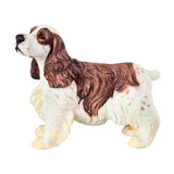 Springer Spaniel Brown and White Dog Figurine 1