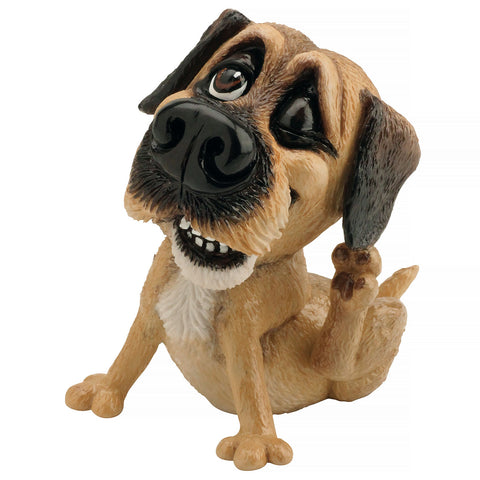"Little Paws ""Bob"" Border Terrier Dog Figurine"