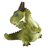 Cute Little Baby Dragon Looking Around Figurine 1