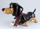 Little Paws Filo Dachshund Dog Figurine 4