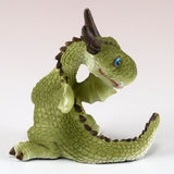 Cute Little Baby Dragon Looking Around Figurine 3