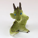 Cute Little Baby Dragon Looking Around Figurine 4