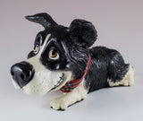 Little Paws Bess Border Collie Dog Figurine