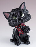 Little Paws Lucky Cat Figurine black 1