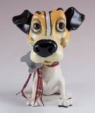 Little Paws Wilf Jack Russell Terrier Dog Figurine 2