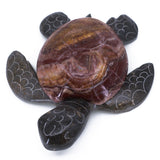 Carved Marble Stone Sea Turtle Figurine 2
