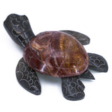 Carved Marble Stone Sea Turtle Figurine 3