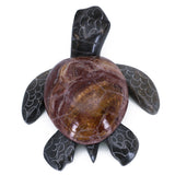 Carved Marble Stone Sea Turtle Figurine 4