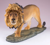 Lion figurine resin 2