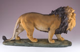 Lion figurine resin 3