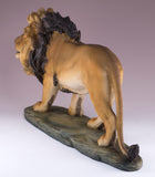Lion figurine resin  4