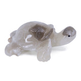 Carved Marble Stone White Turtle Tortoise Figurine 1