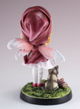 Fairy Tale Little Red Riding Hood With Wolf Figurine