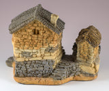 Fairy Garden House With Tool Shed Figurine