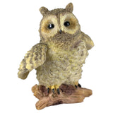 Mini Eagle Owl Figurine By Veronese Design