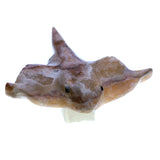 Carved Marble Stone Stingray Figurine 2