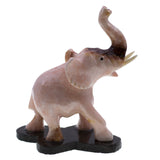 Carved Marble Stone Elephant Figurine 3