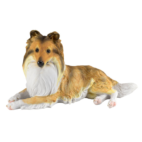 Sheltie Shetland Sheepdog Collie Dog Figurine 1