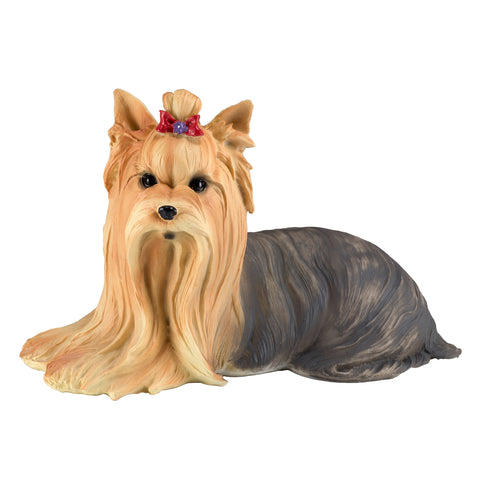 Yorkie Yorkshire Terrier Dog Figurine