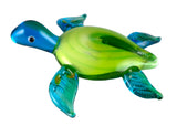 Sea Turtle Hand Blown Glass Figurine 1