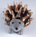 Hedgehog Miniature Hand Blown Glass Figurine 2