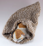 Calico Kitten Sleeping In Blanket Cat Figurine 2