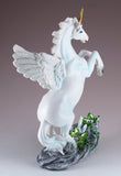 Unipeg Pegasus Unicorn Figurine With Glitter & Gems