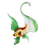Lampwork Hand Blown Glass Fancy Fish Figurine 1