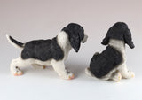 Springer Spaniel Puppies Dog Figurines