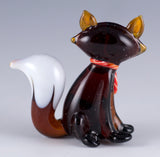 glass fox figurine 3